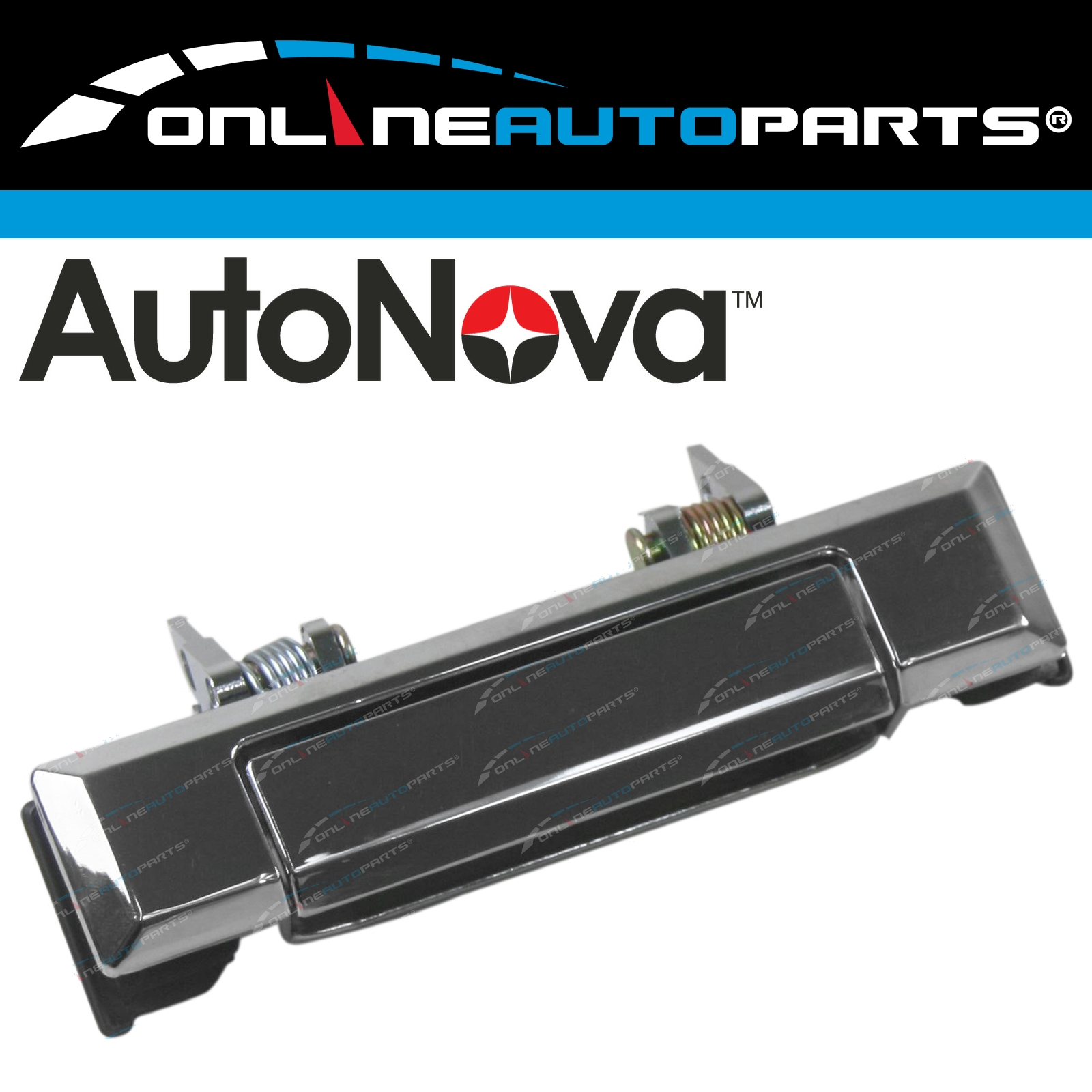 Door Handle New Chrome Front /& Rear Right-and-Left LH RH for Toyota Land Cruiser