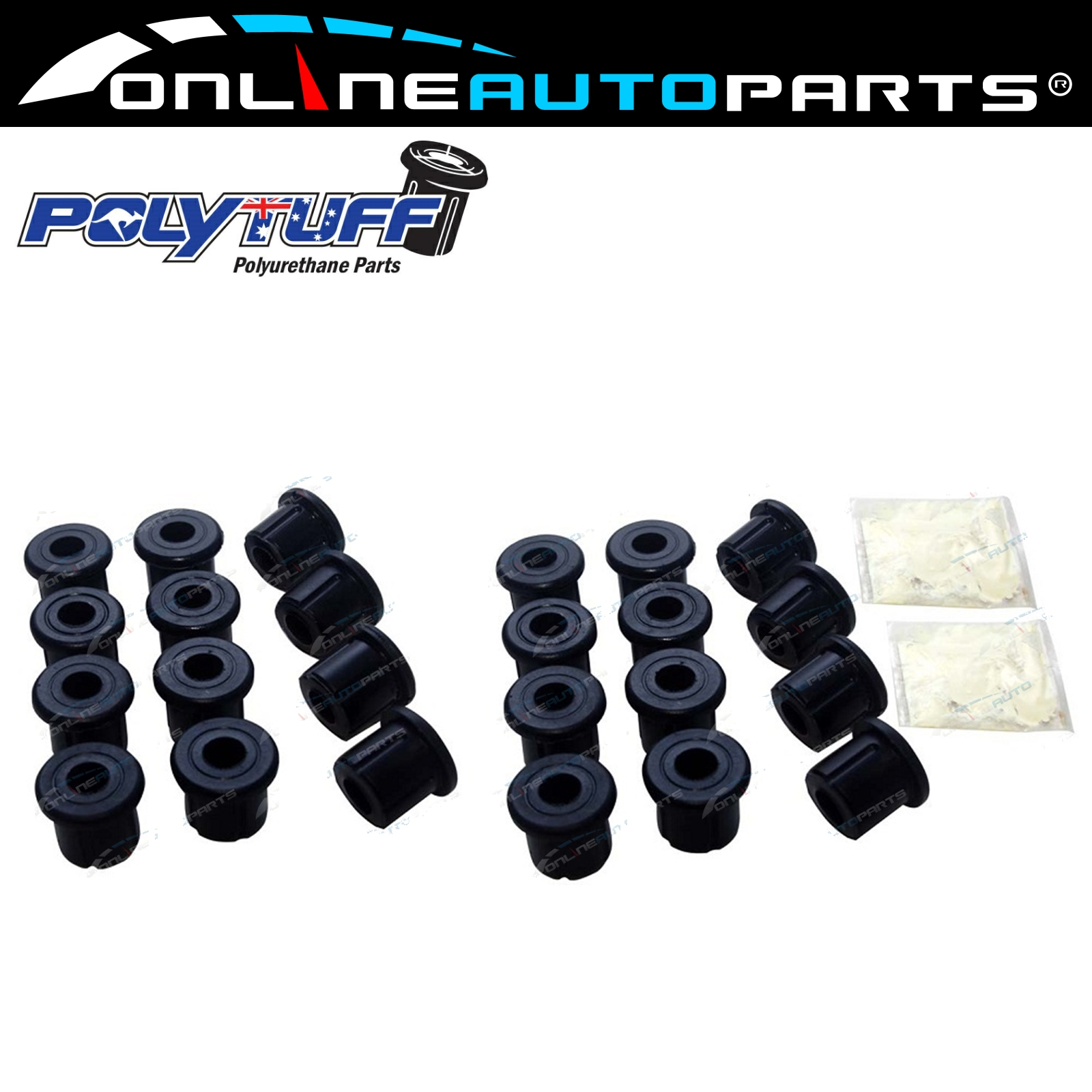 Details about Leaf Spring Bush Kit suits Landcruiser 60 Series FJ60 FJ62  HJ60 HJ61 Shackle