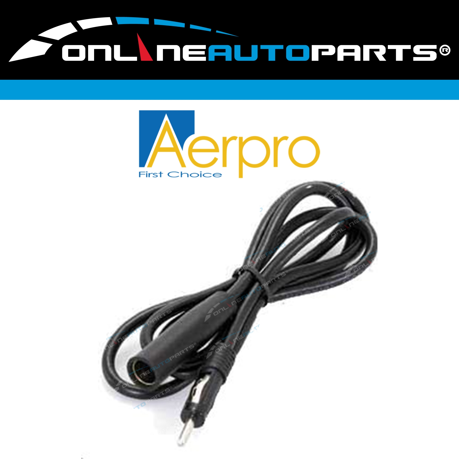 1 meter Car Antenna Extension Cable Auto Radio Stereo Aerial Lead 1m Long
