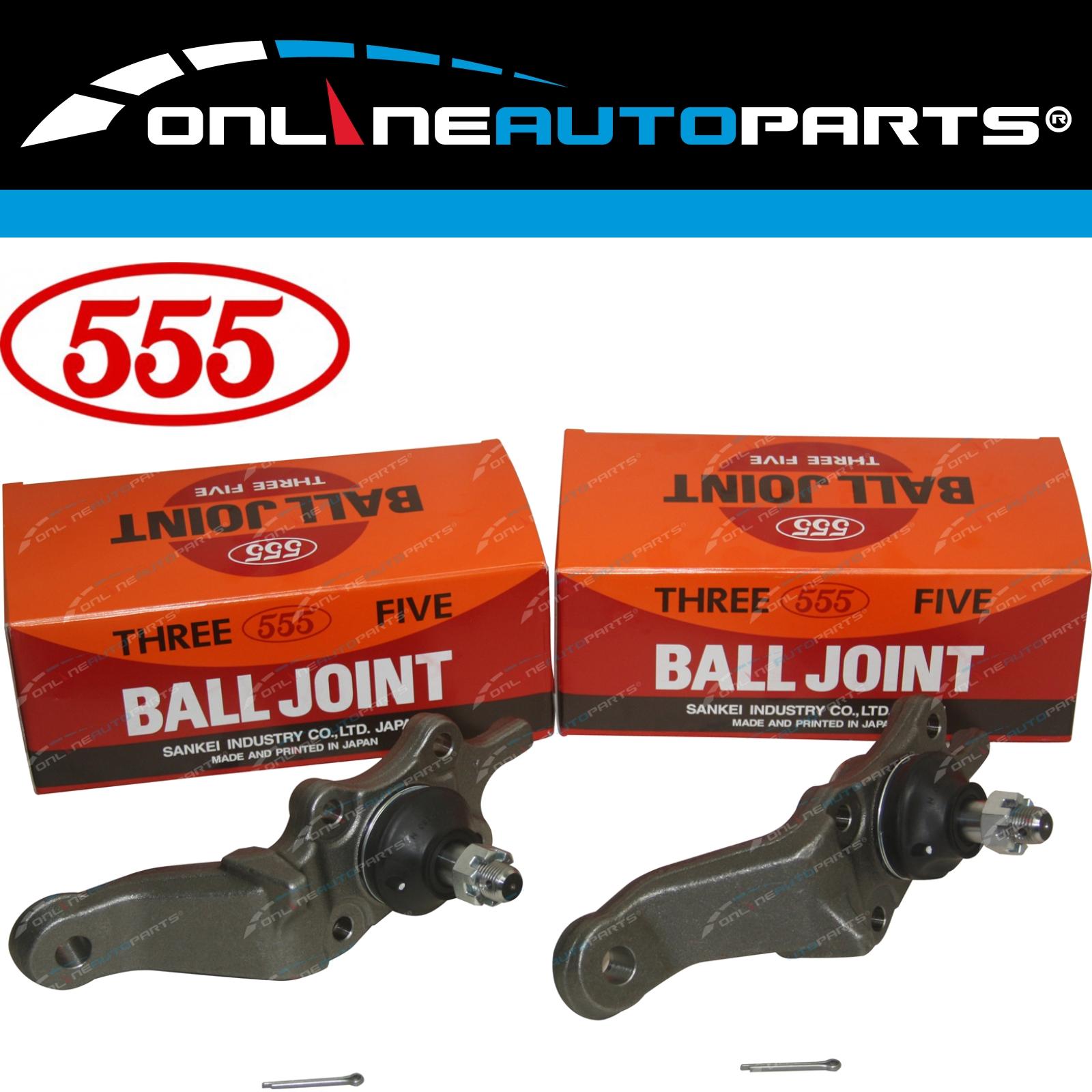 2 Upper Ball Joints 555 suits Toyota Land Cruiser Prado KZJ95 RZJ95 VZJ95 96~02