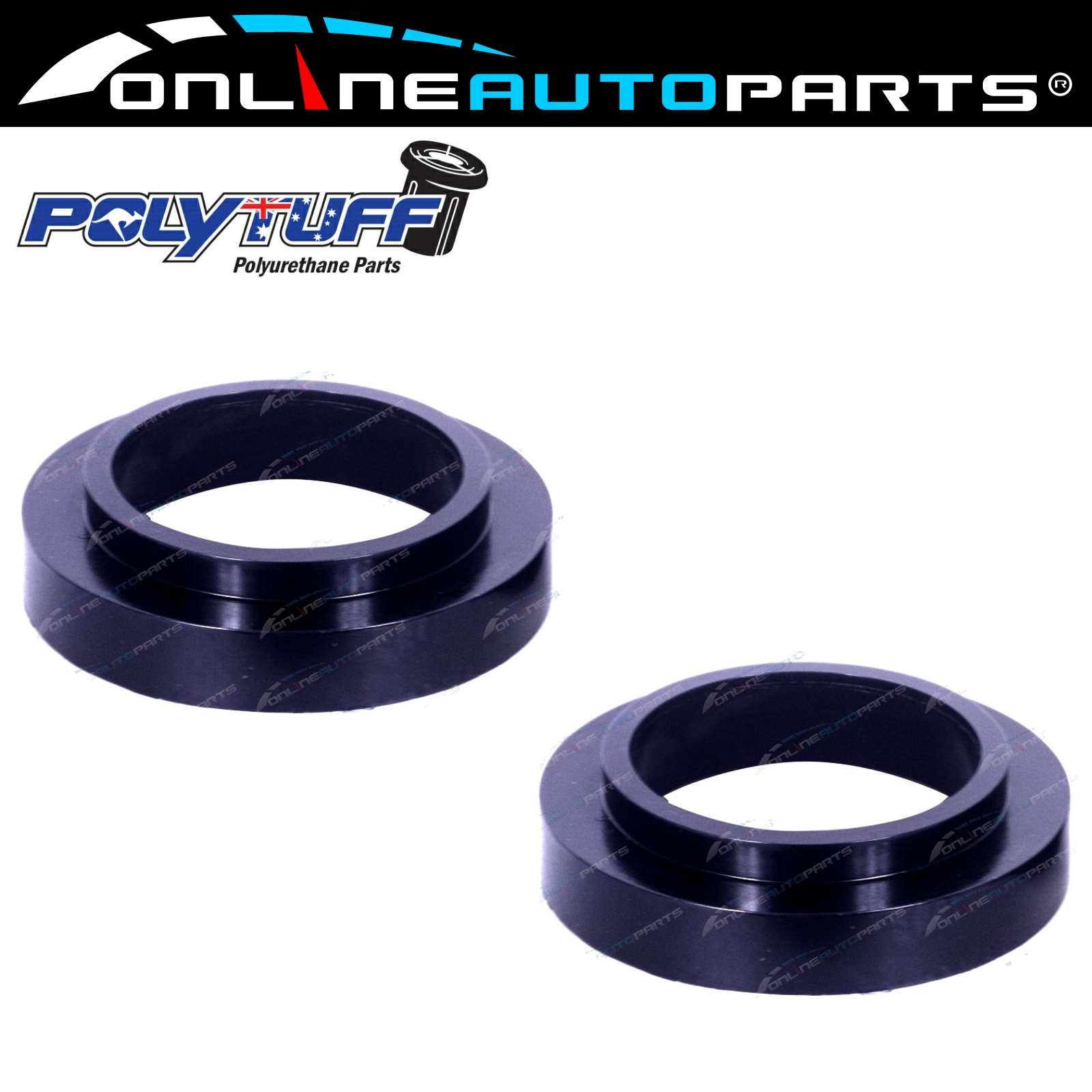30mm-Coil-Spring-Spacers-LandRover-Range-Rover-Defender-Discovery-County-90