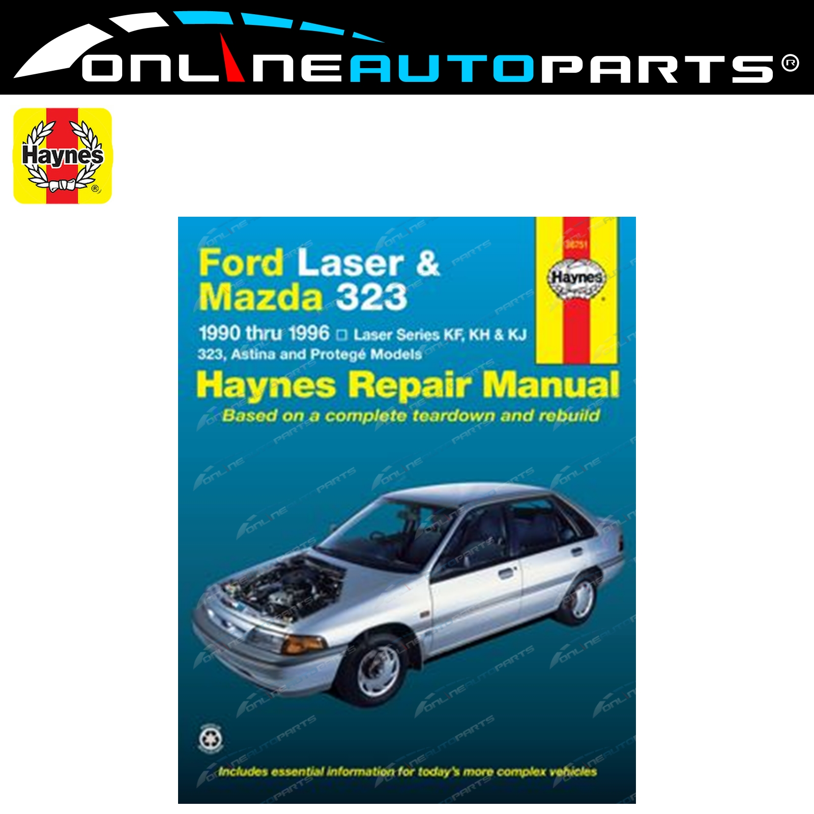 Haynes Car Repair Manual Book Mazda 323 BA BG 1989-1998 incl Astina +  Protege