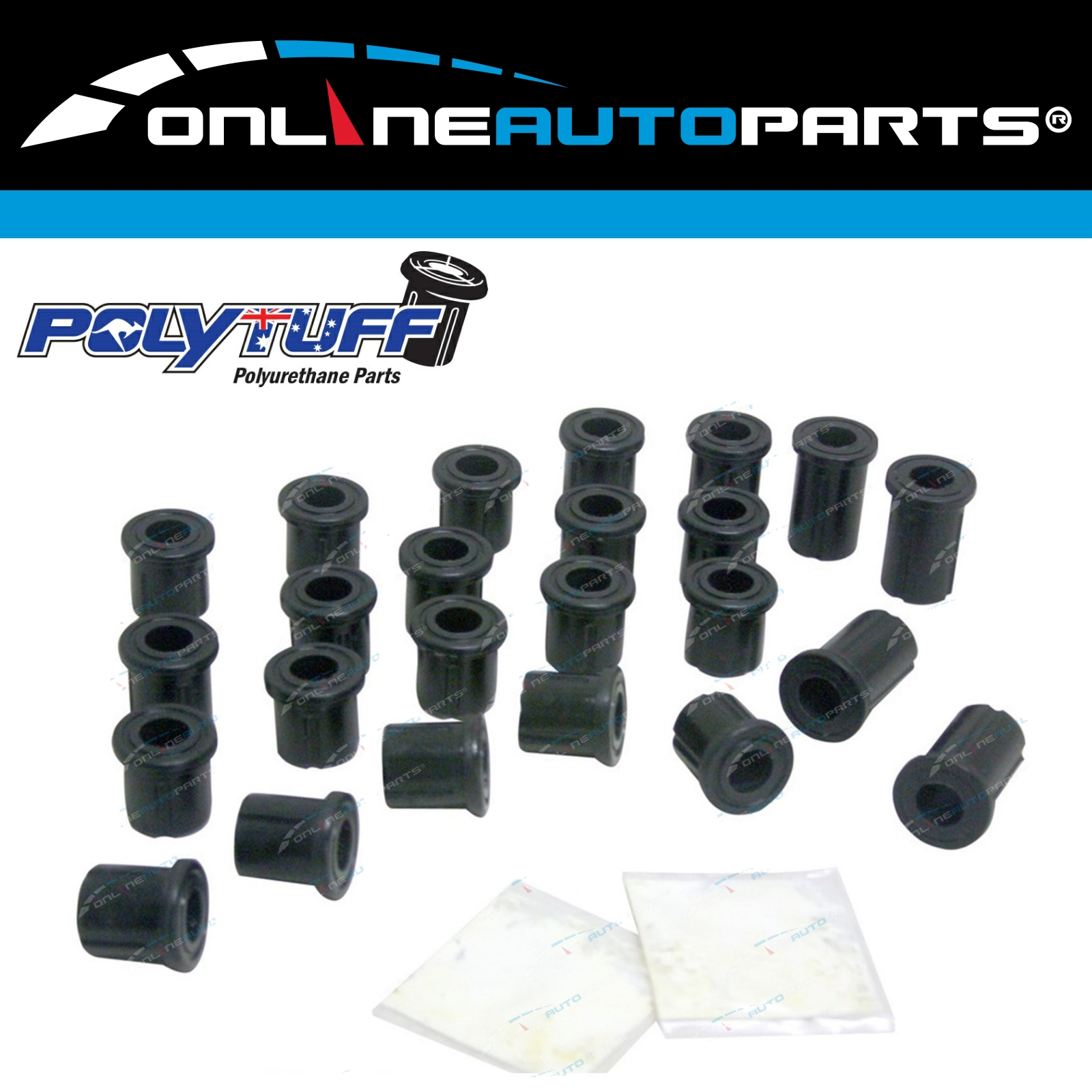 Leaf Spring Greasble Shackle Pin Kit Hilux LN106 LN46 LN65 4X4 Diesel Ute 4wd