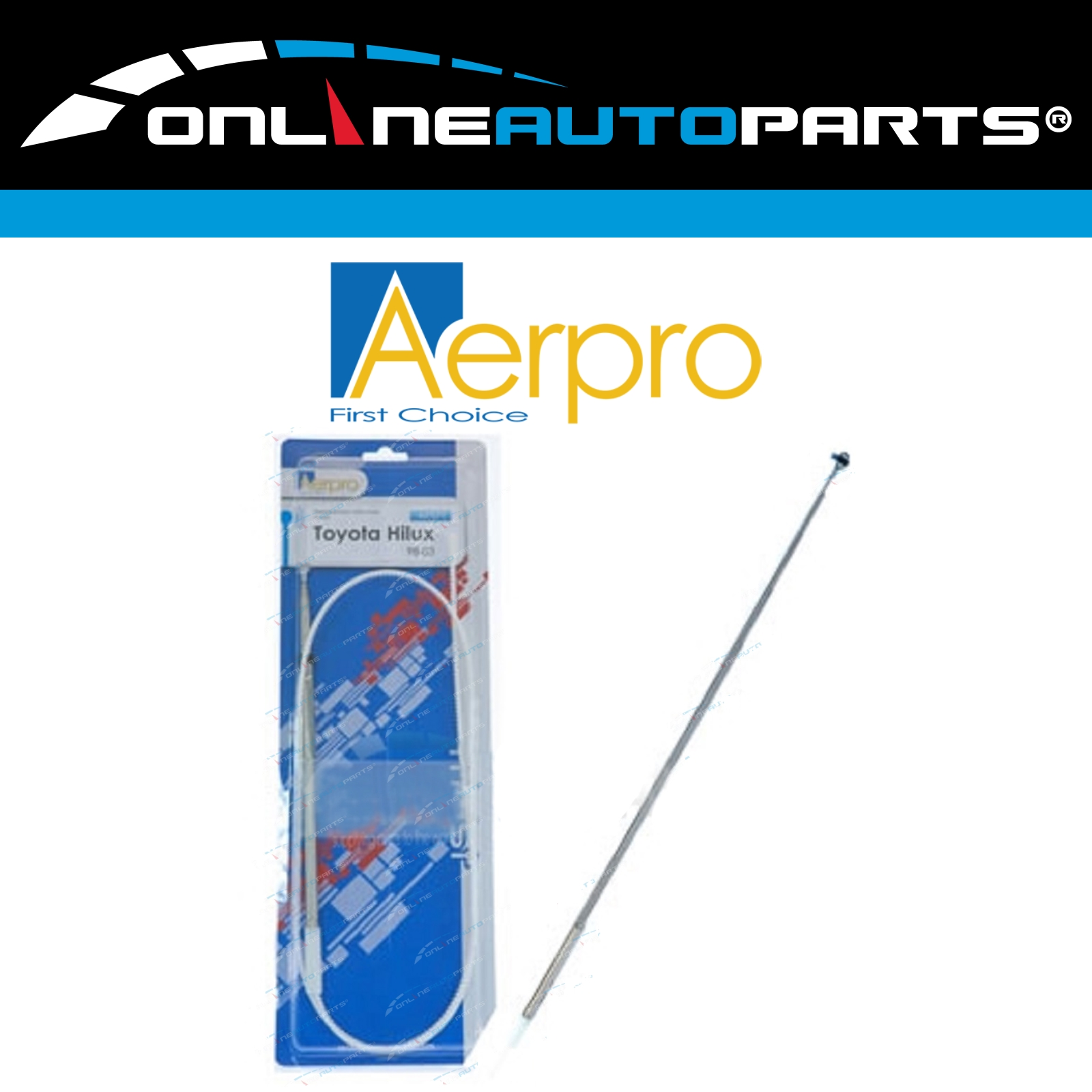 Power Antenna Aerial AM FM Radio Mast kit for Toyota 4Runner Avalon Cressida MR2