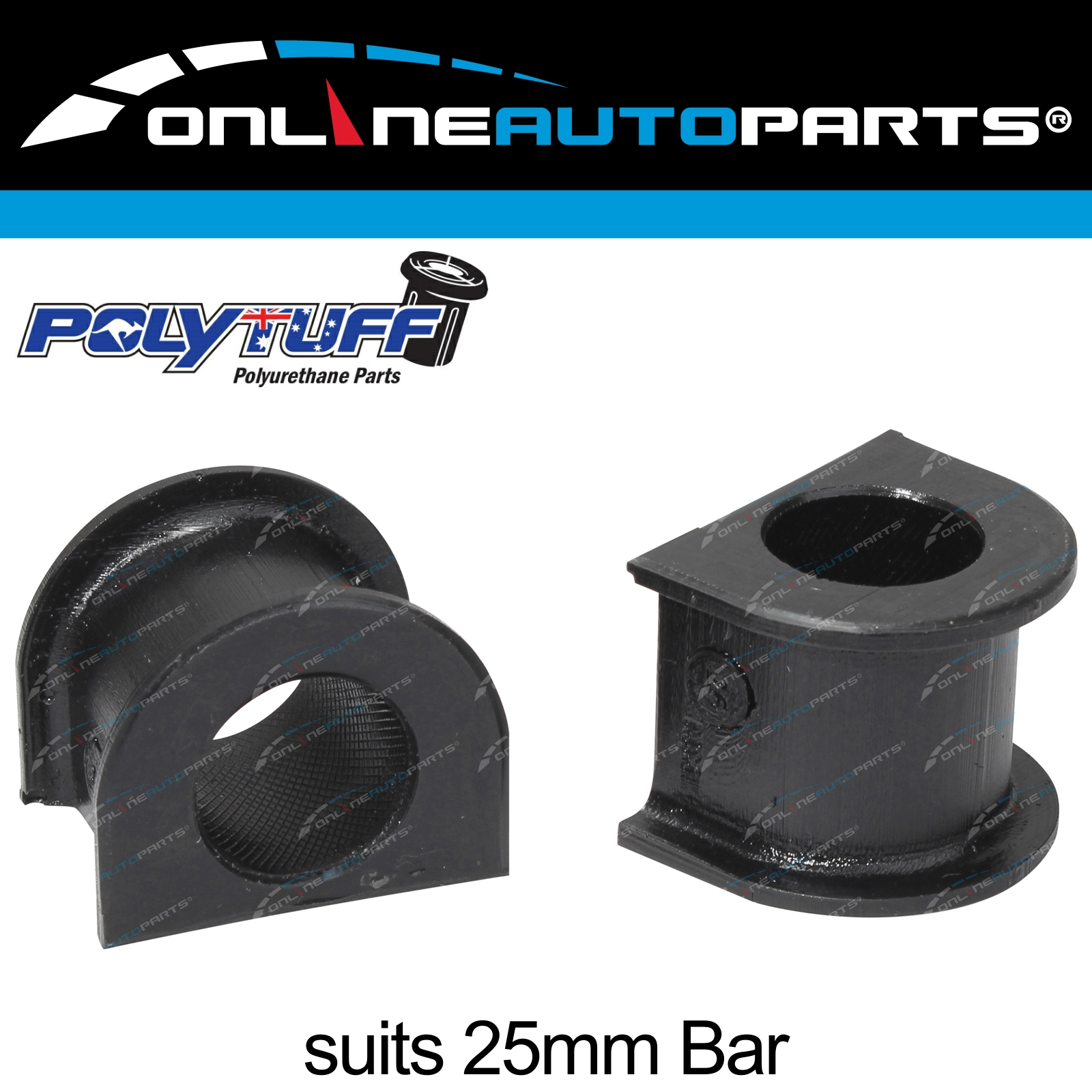 26mm Rubber Sway Bar bush front fits Toyota LandCruiser 80 series