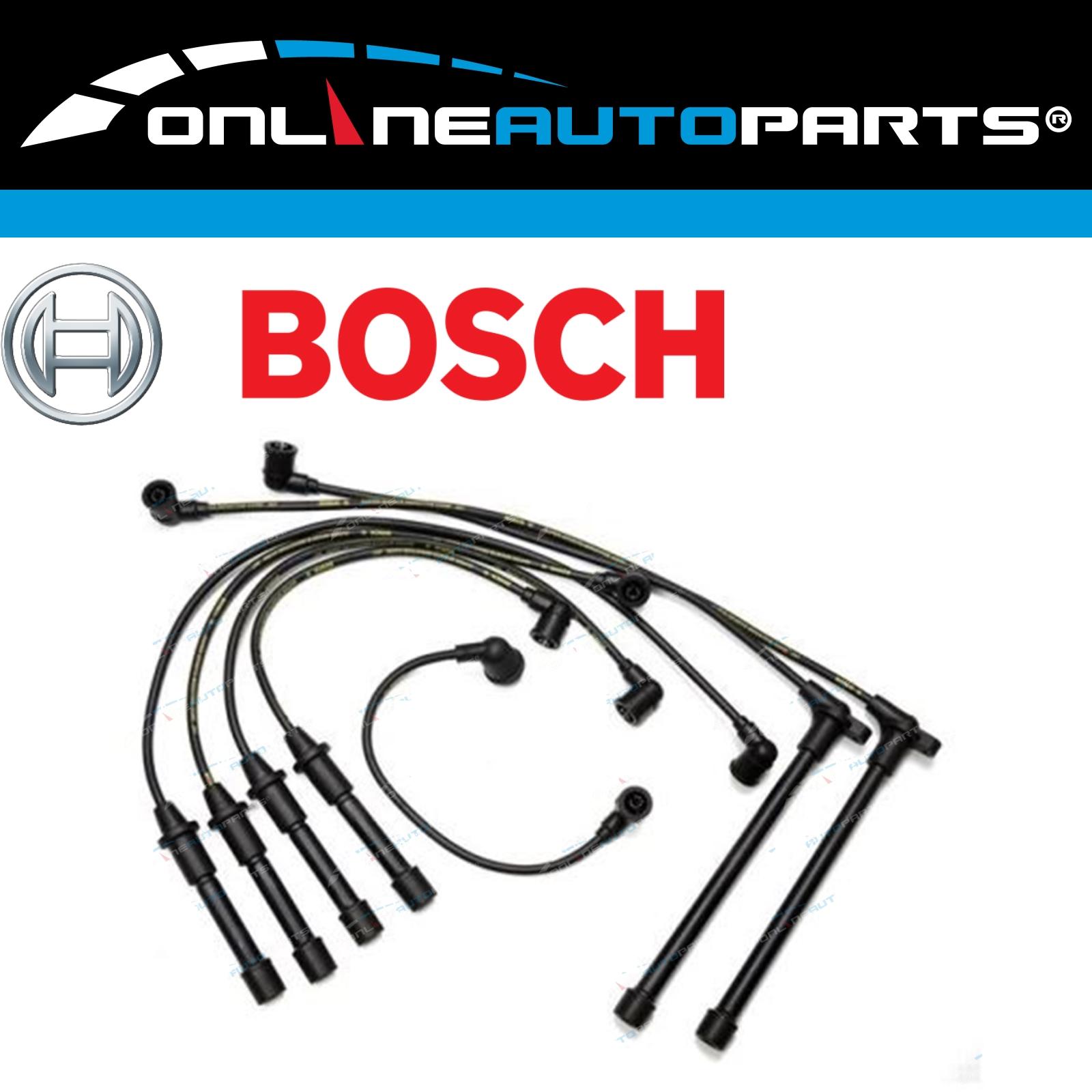 Bosch-Ignition-Spark-Plug-Lead-Set-suits-Pathfinder-WD21-3-0L-VG30E-V6-1992-1995
