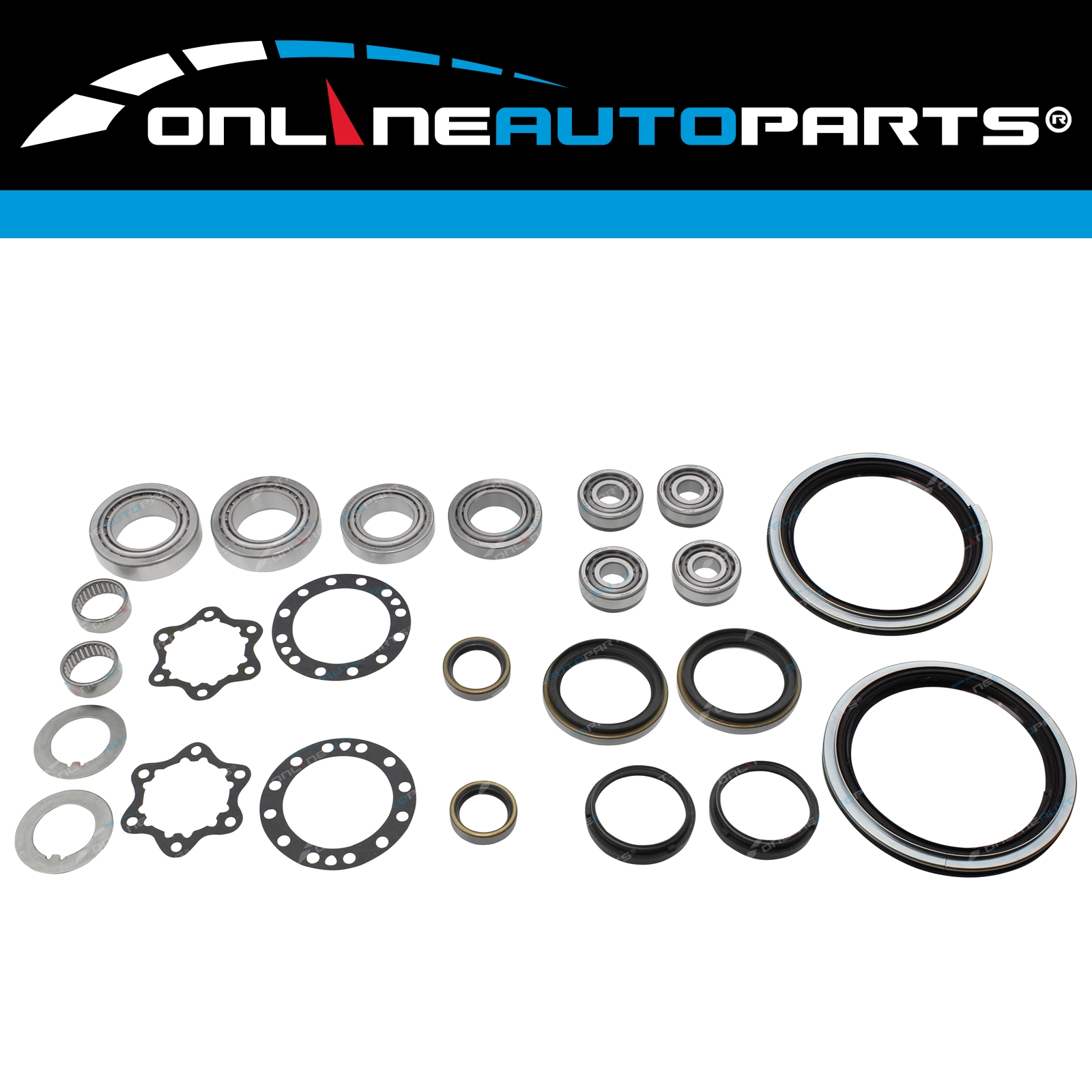 4wd Hub + Wheel Bearing Repair Kit Front Swivel Knuckle
