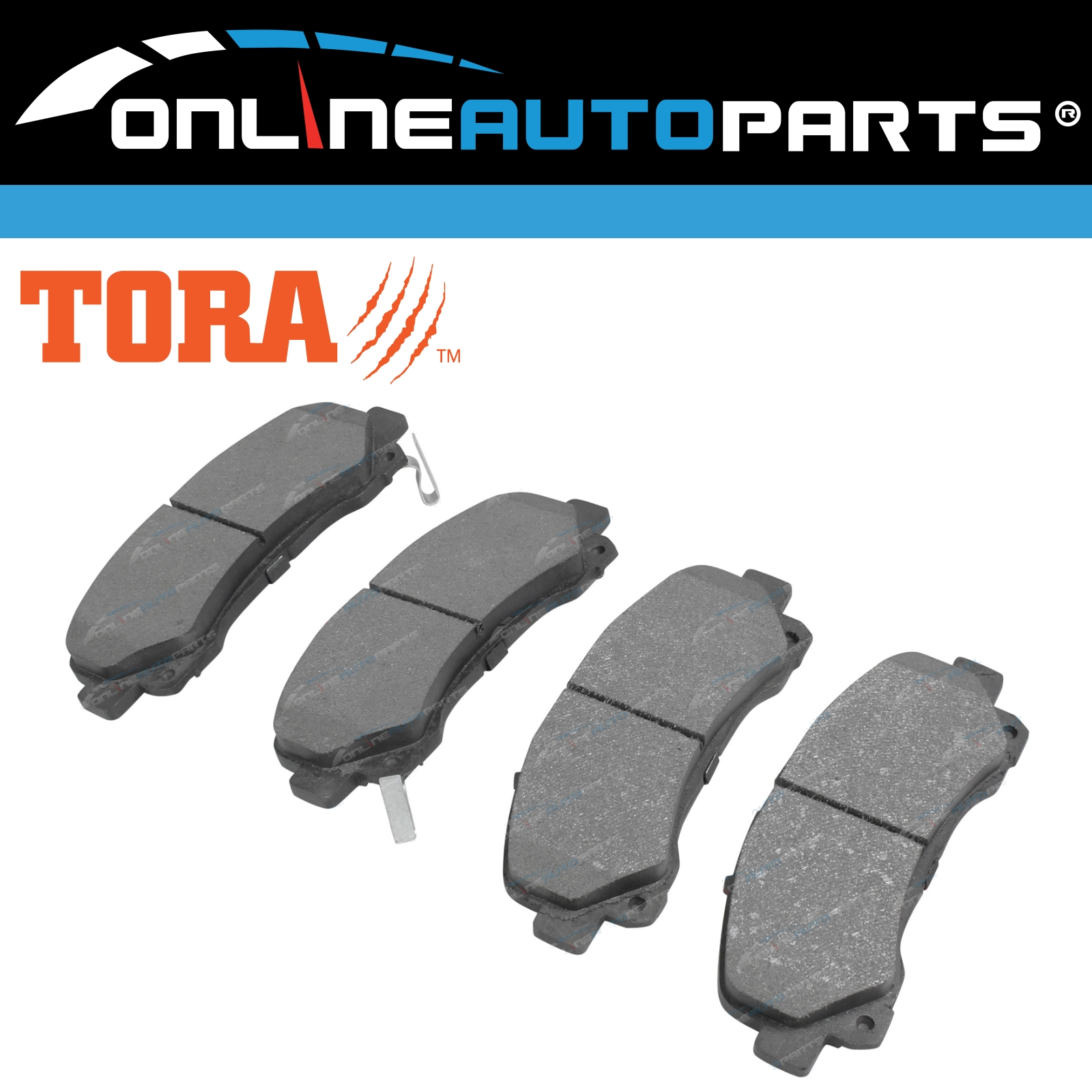 Front Disc Brake Pads Set suits Toyota Prius NHW20R 2003 to 2009 Hybrid New