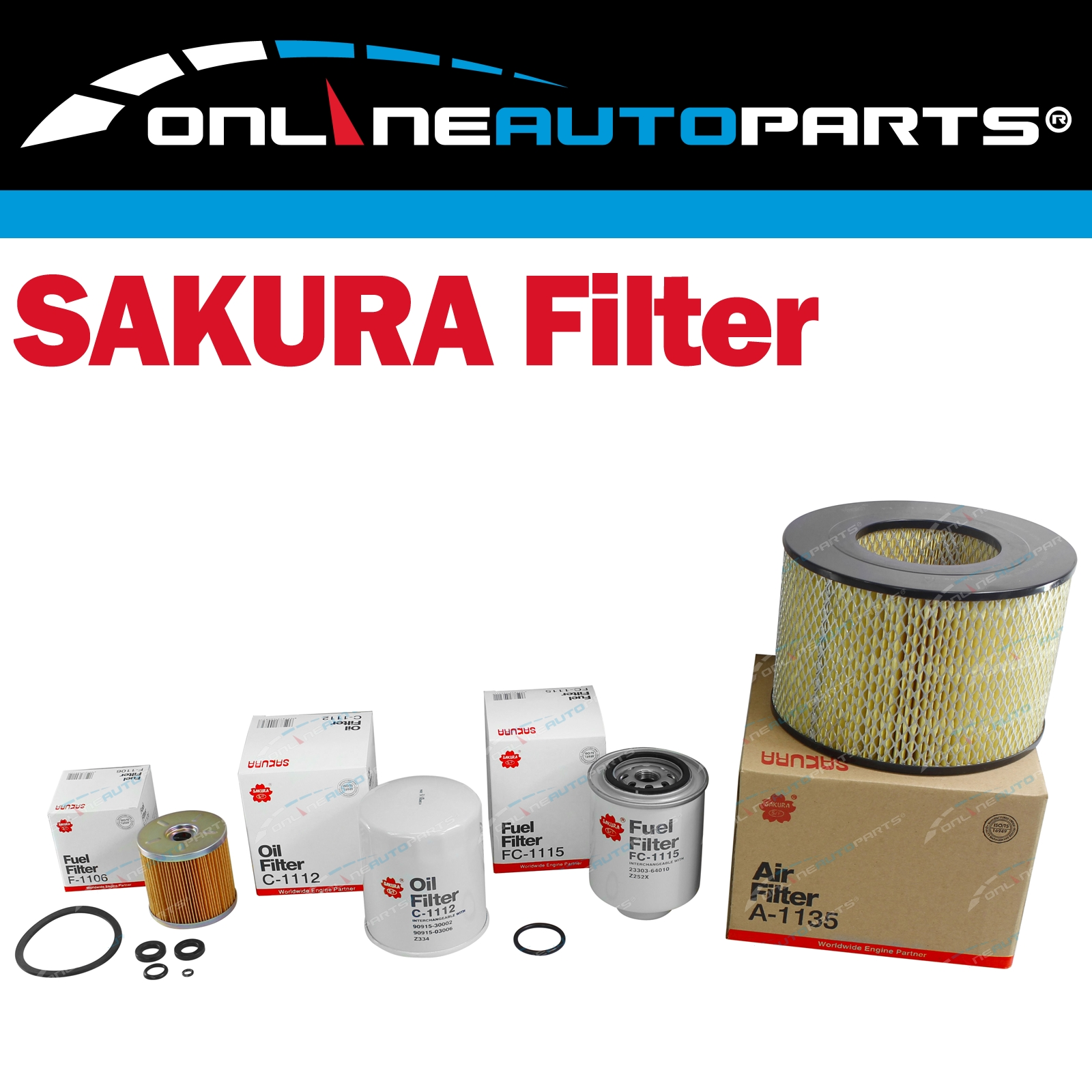 K-11030 Sakura 4x4 Filter Service Kit