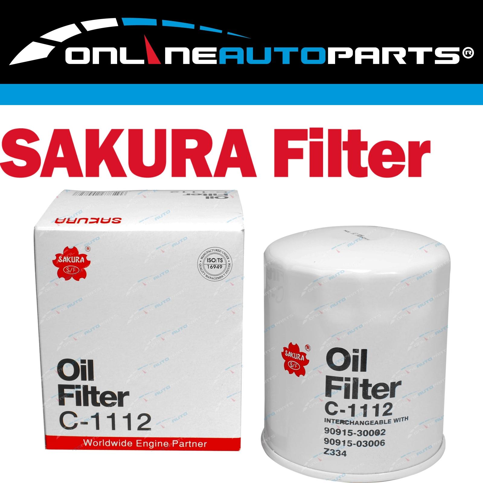 Oil Filter Sakura C1112 (Z334) suits 1HZ 1HDT 4 2L 70 80 100 Series