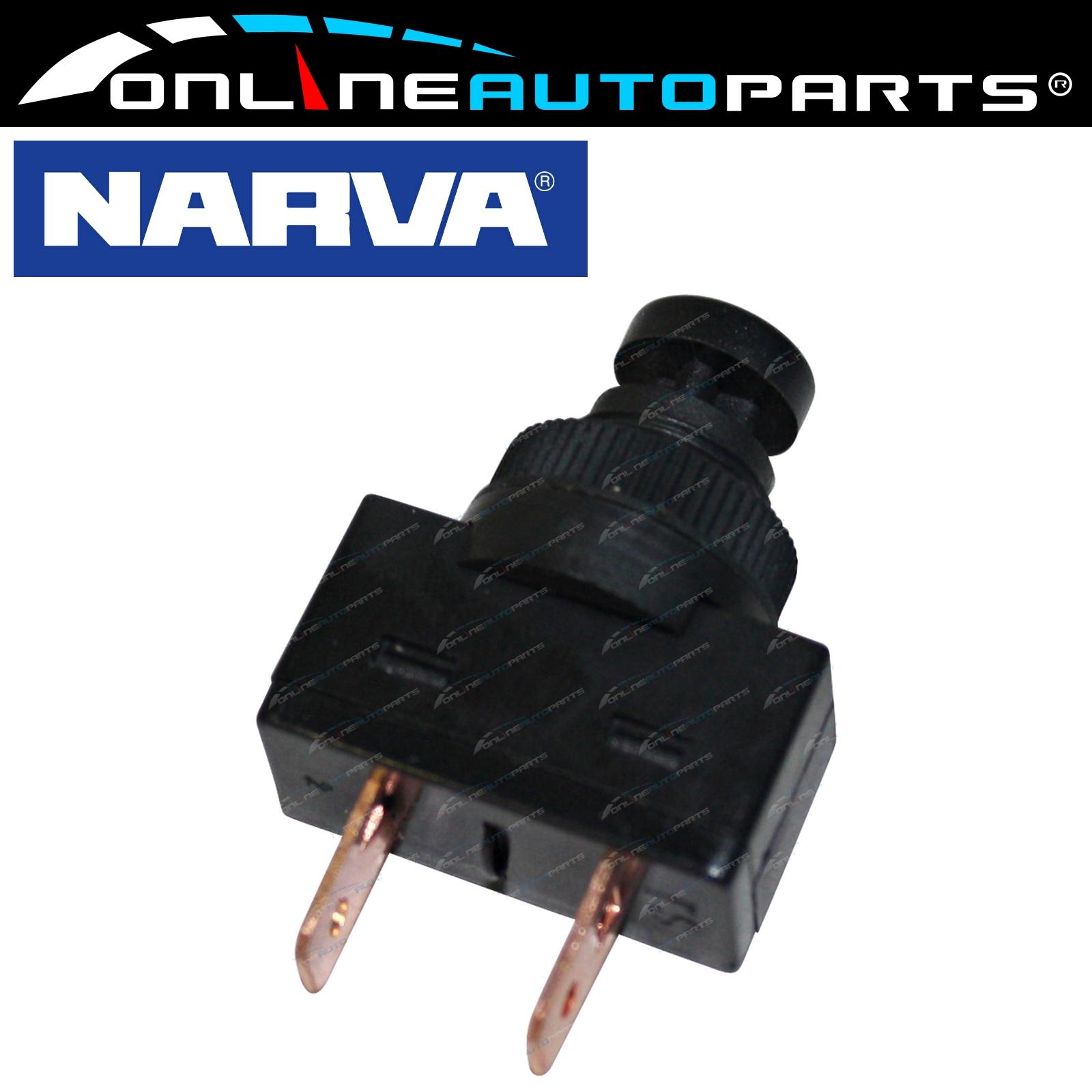 Narva 60040Bl Interruttore clacson momentaneo a pulsante 16Amp - 12 Volt - 16 Amp 9314464600401 Ebay-3727