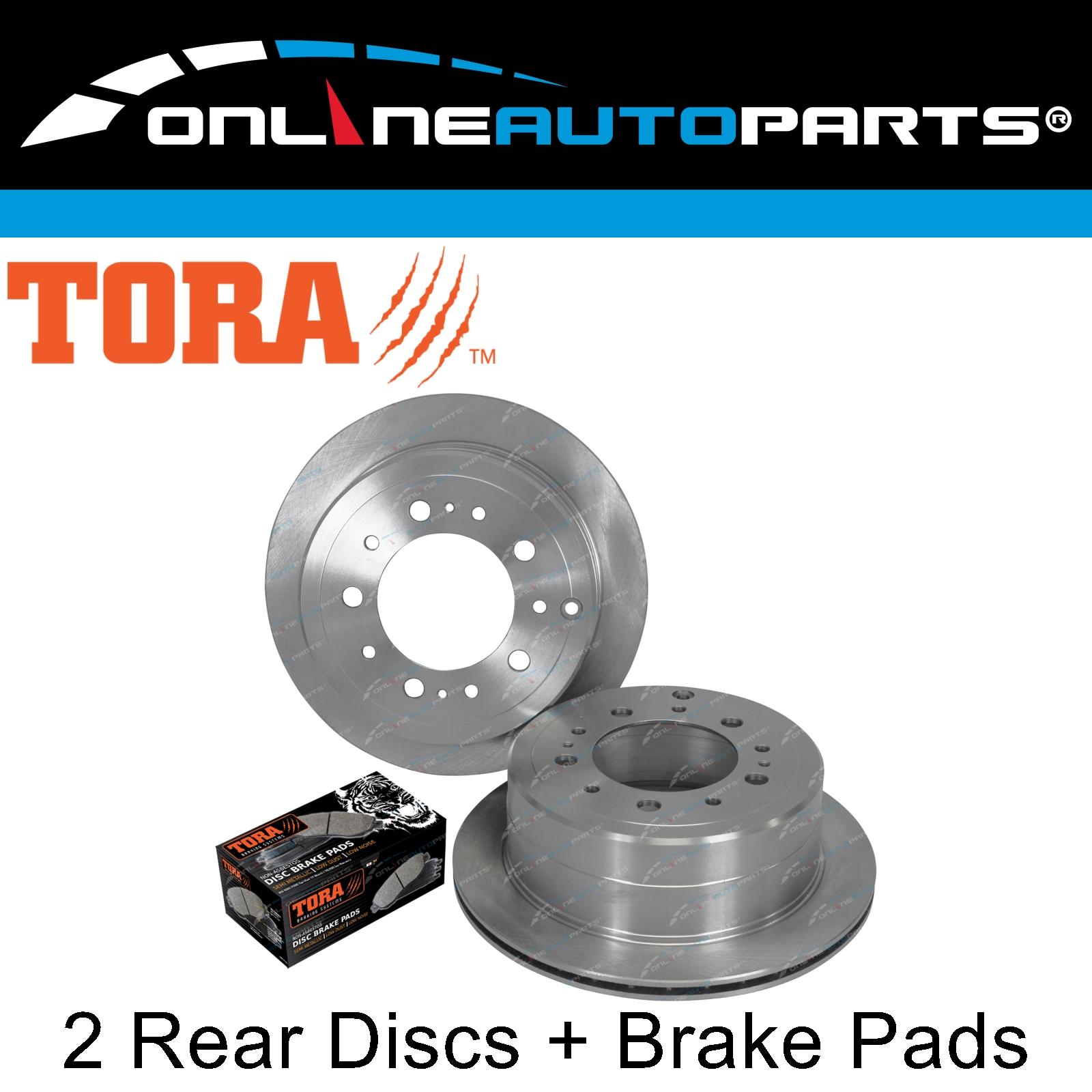 For Toyota Land Cruiser 98-07 V8 4.7L Brake Kit Front+Rear Pads /& Rotors