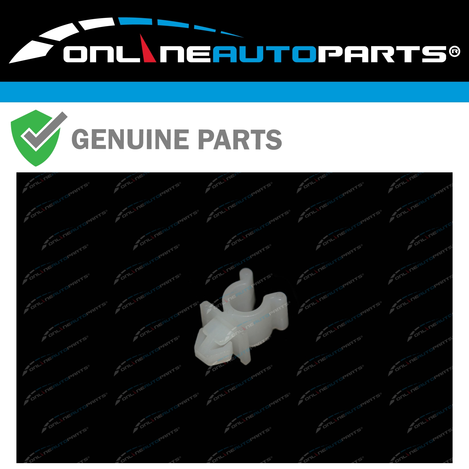 Genuine NISSAN PATROL GQ Y60 X TRAIL T30 BONNET SUPPORT ROD CLIP CLAMP KIT