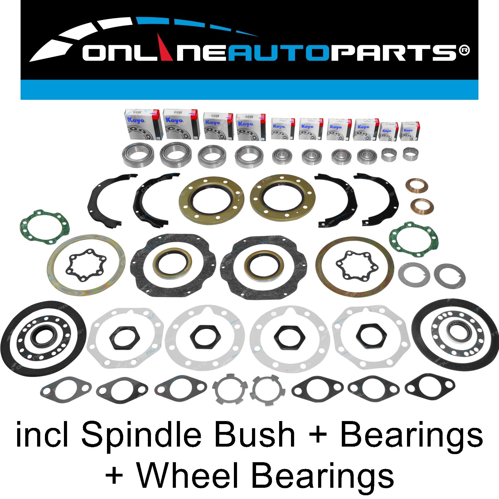 axle parts automotive wheel bearing seal kit suit toyota landcruiser fzj78  troopy front swivel hub  recamier