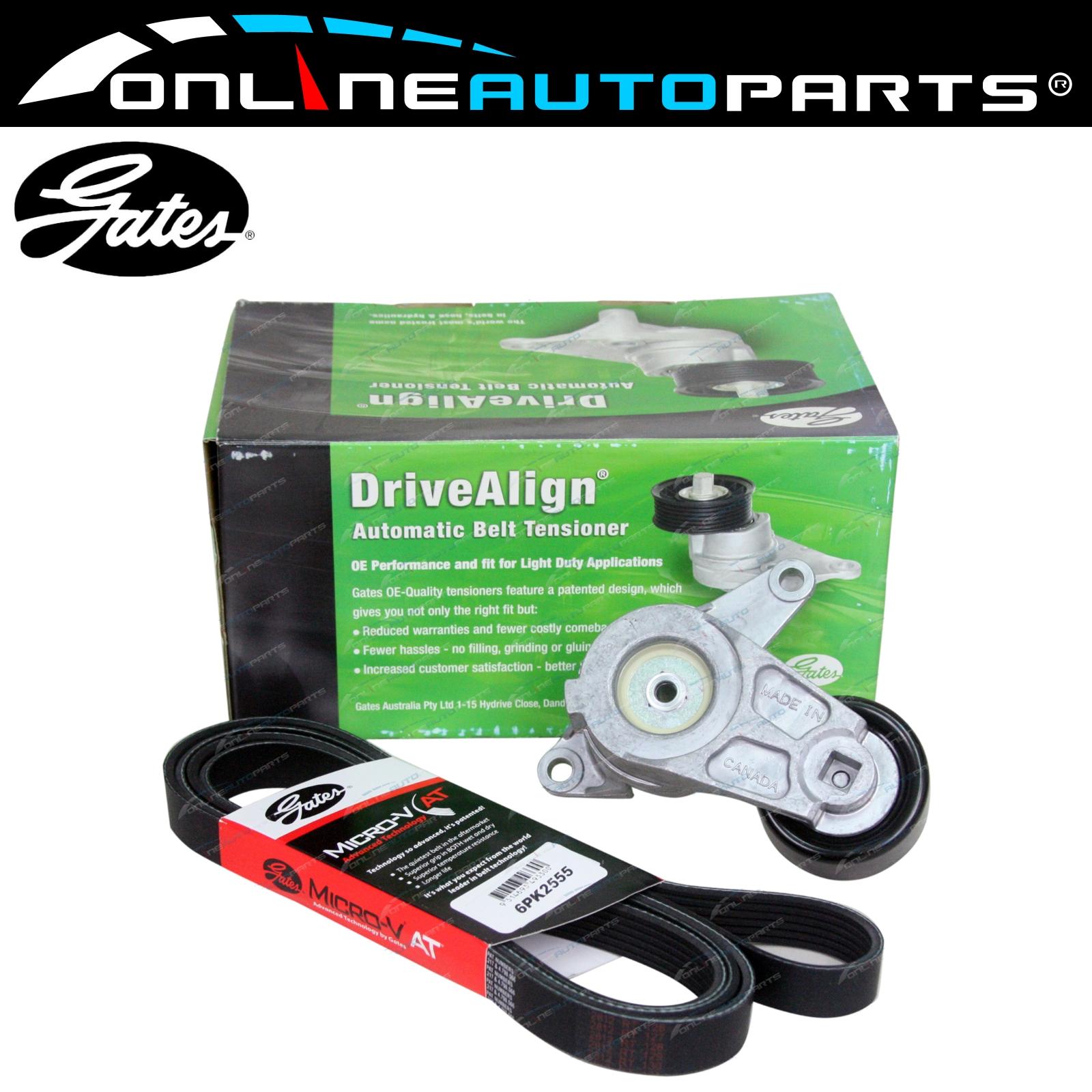 Gates Tensioner Drive Belt Kit Holden Vz Ve V6 2004 To 8 2010 30l Timing 05 Mazda 6 30