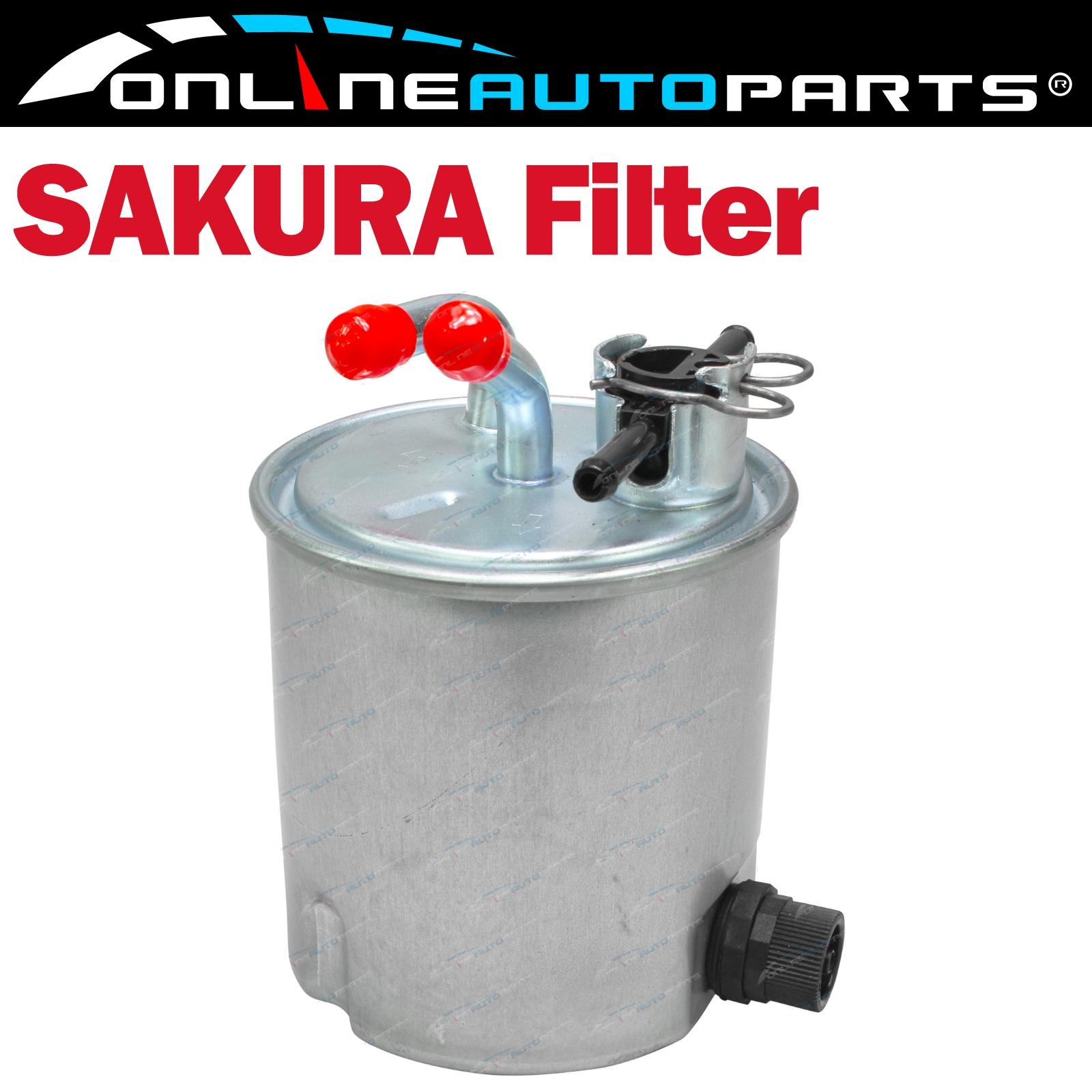 Sakura Fuel Filter suits Pathfinder R51 Navara D40 2.5L 4cyl YD25DDTi 2005 ~2015