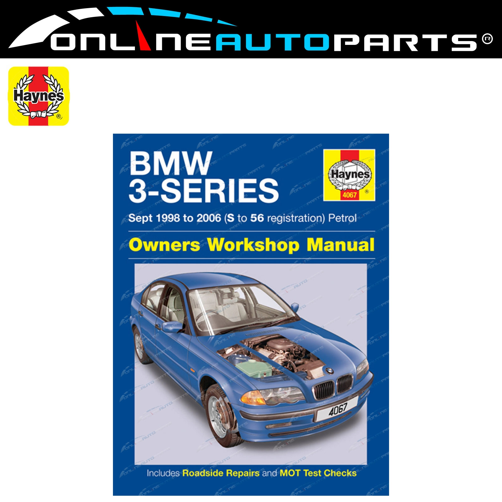 Haynes Car Repair Manual Book BMW E46 1998-06 316i 318i 320i 323i 325i 328i
