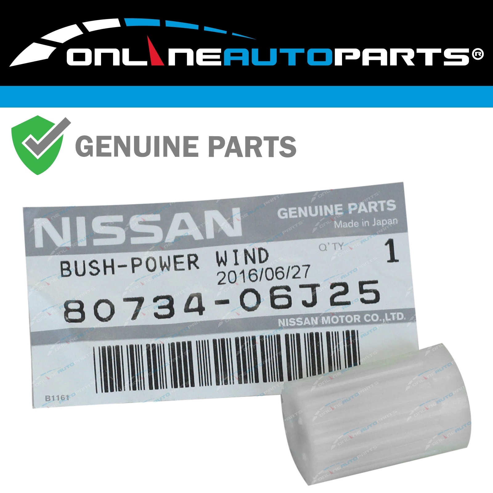 WINDOW LIFT MOTOR NEW fits NISSAN PATHFINDER 1988-1995 RIGHT FRONT//REAR