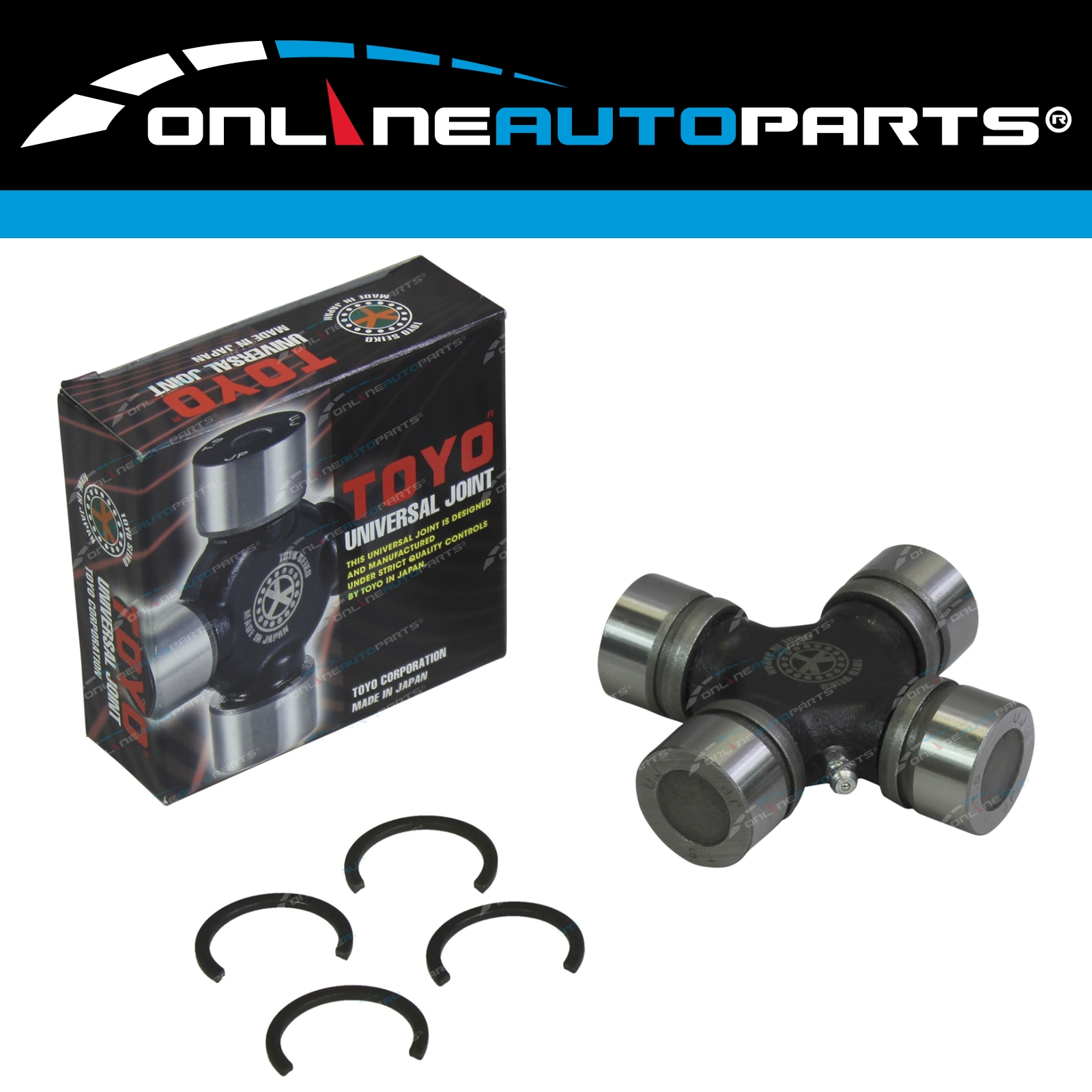 Rear Tailshaft Universal Uni Joint suits Nissan Patrol GQ Y60 GU Y61