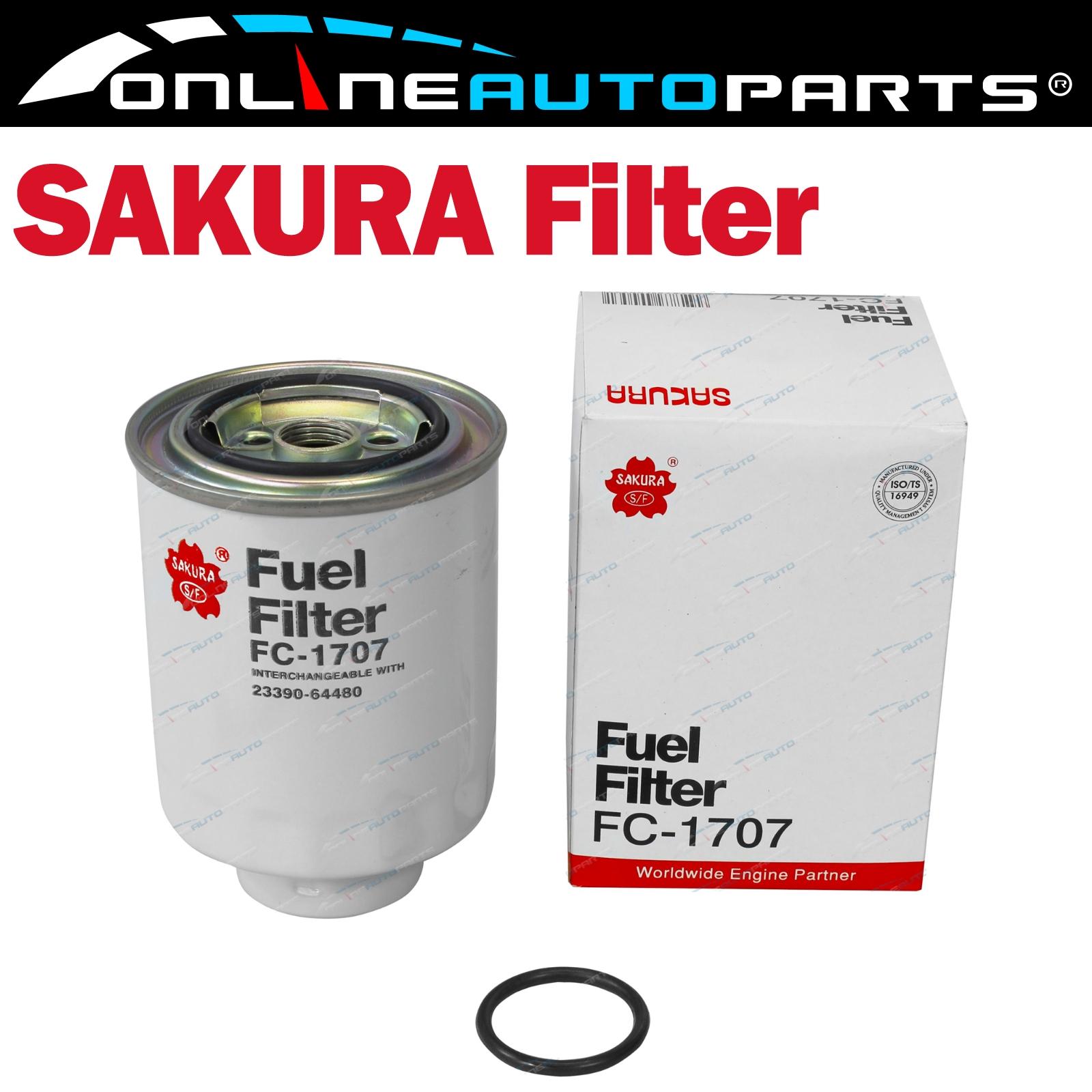 Diesel Fuel Filter Suits Toyota Landcruiser Hdj100 1hdfte 42l Filters For Engines Engine Fc 1707