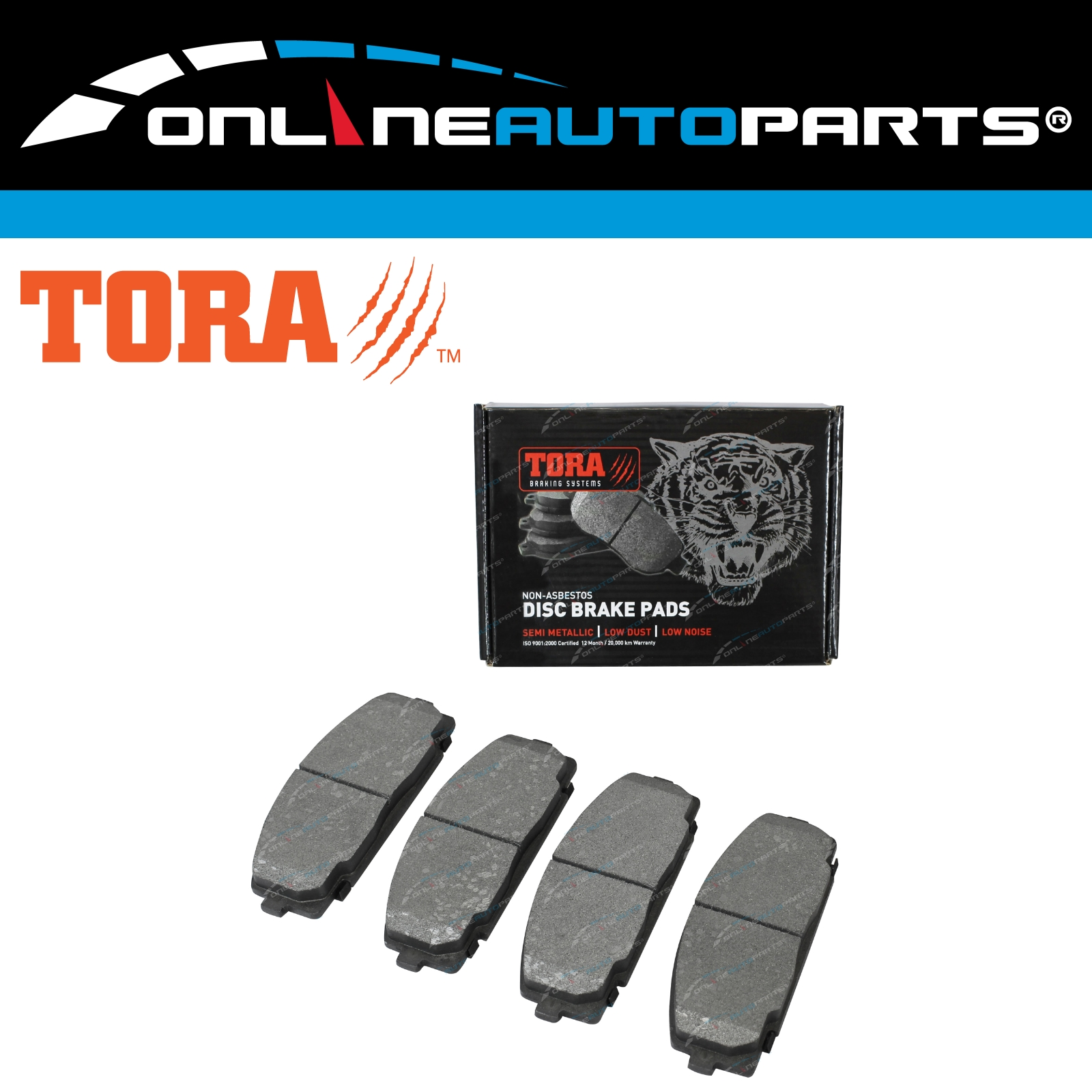 Details about Front Disc Brake Pads suits Toyota Hiace Van KDH TRH 200  Series Commuter 05~12