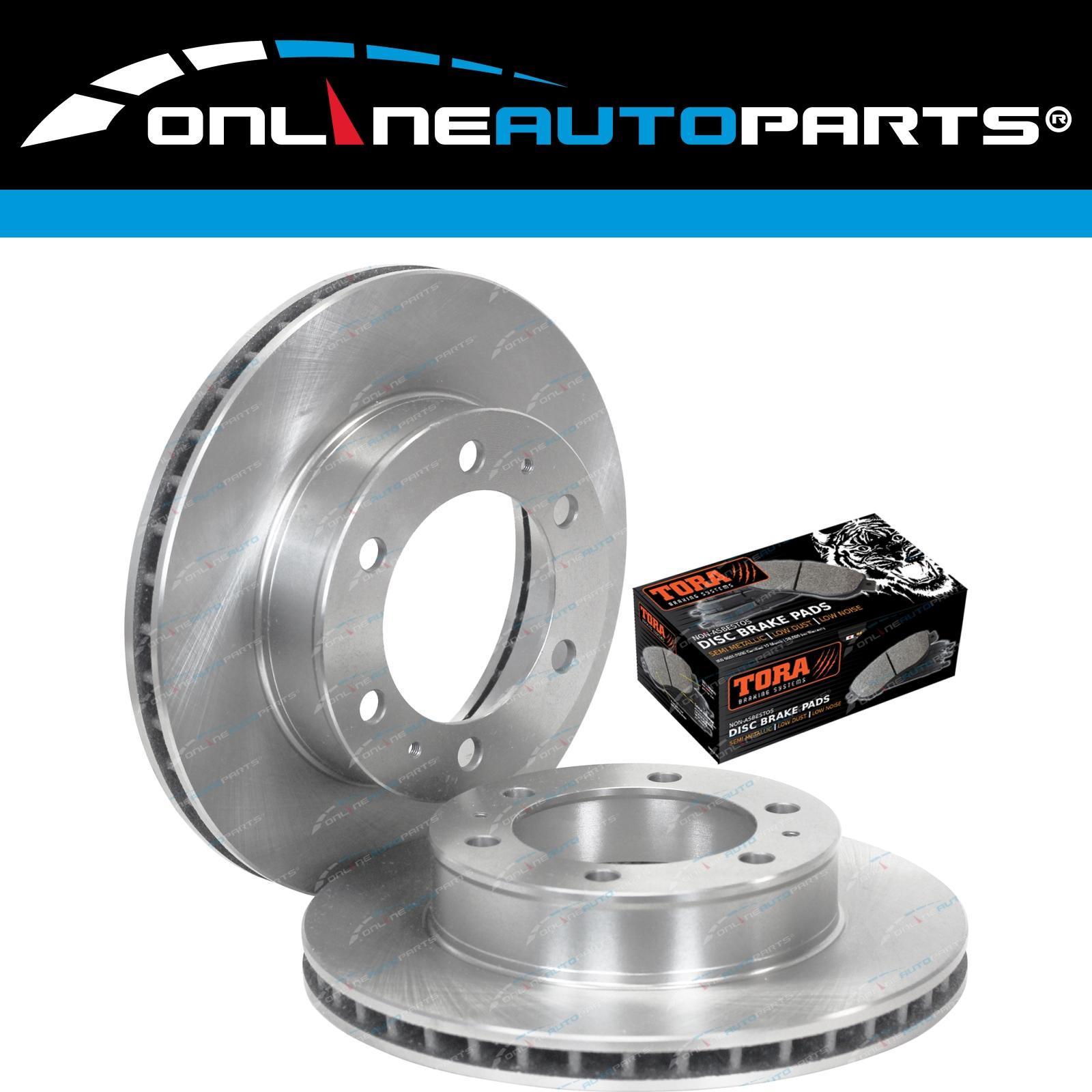 Pads Kit suits Hilux GGN25 KUN25 KUN26 TGN26 05~16 4X4 Front Disc Brake Rotors