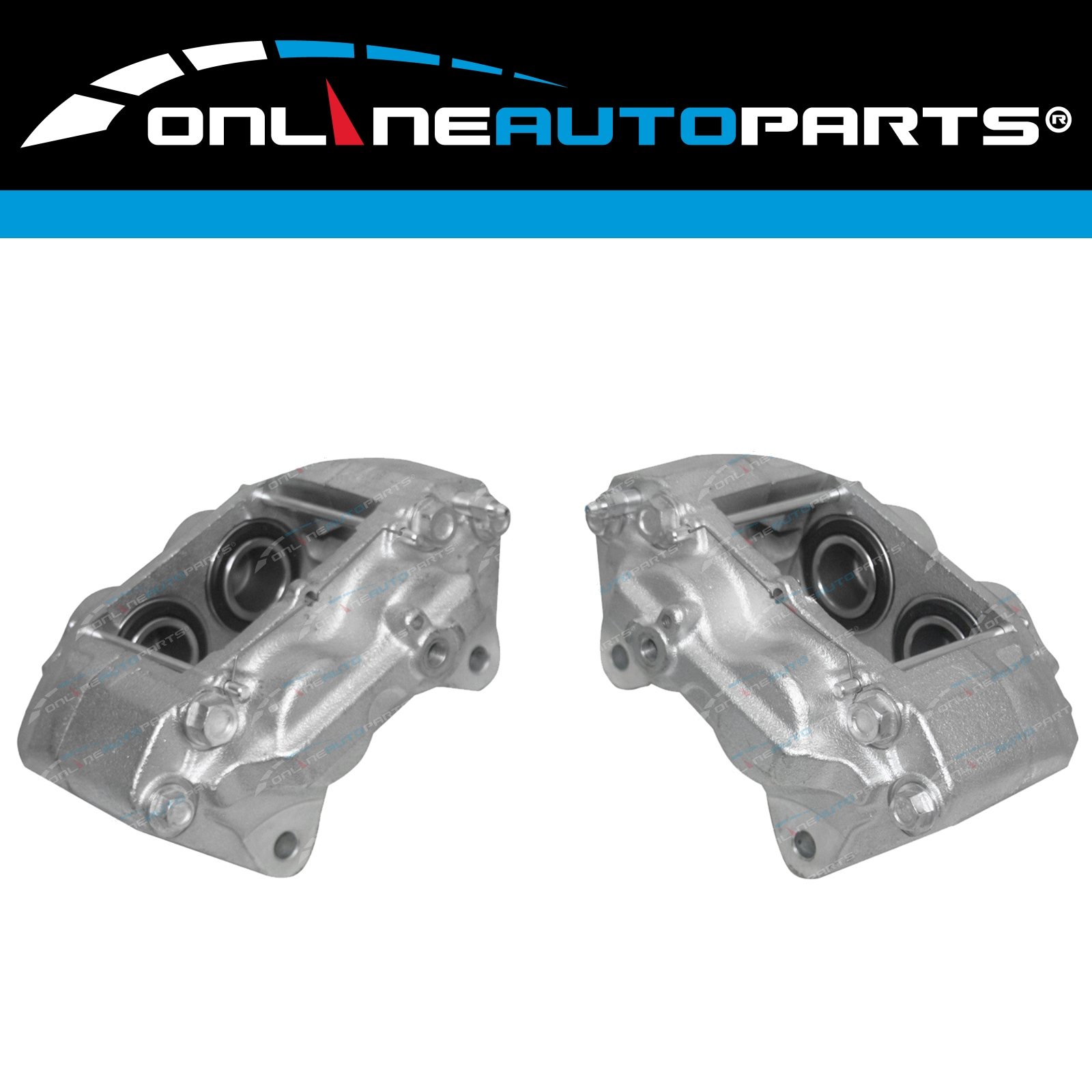 2 Front Brake Calipers suits Landcruiser VDJ76 VDJ78 VDJ79 78 79 Series 2007~12