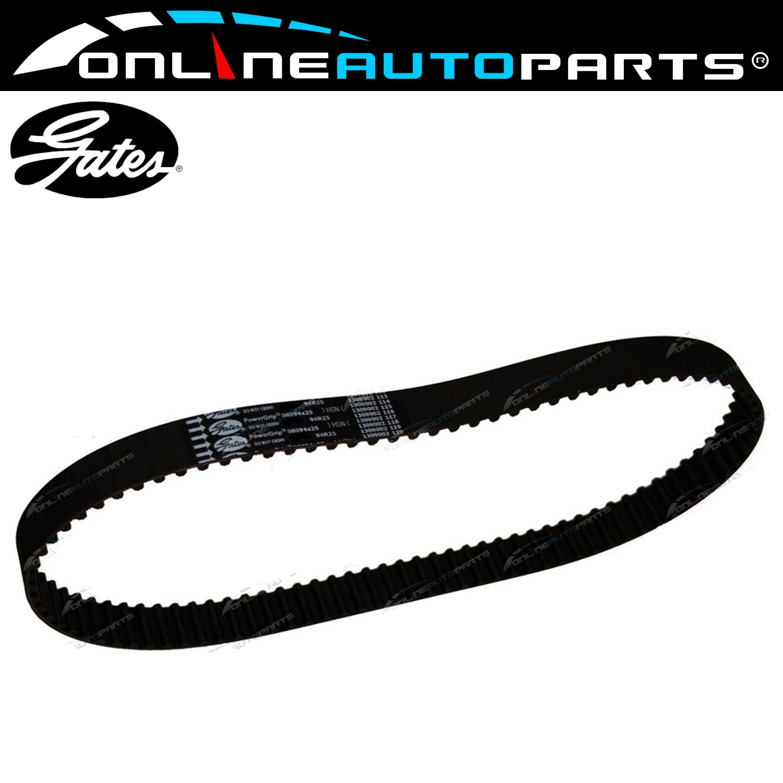 Gates Engine Timing Belt Suits Toyota Prado Vzj90 Vzj95 9602 V6 5vz Product Fe