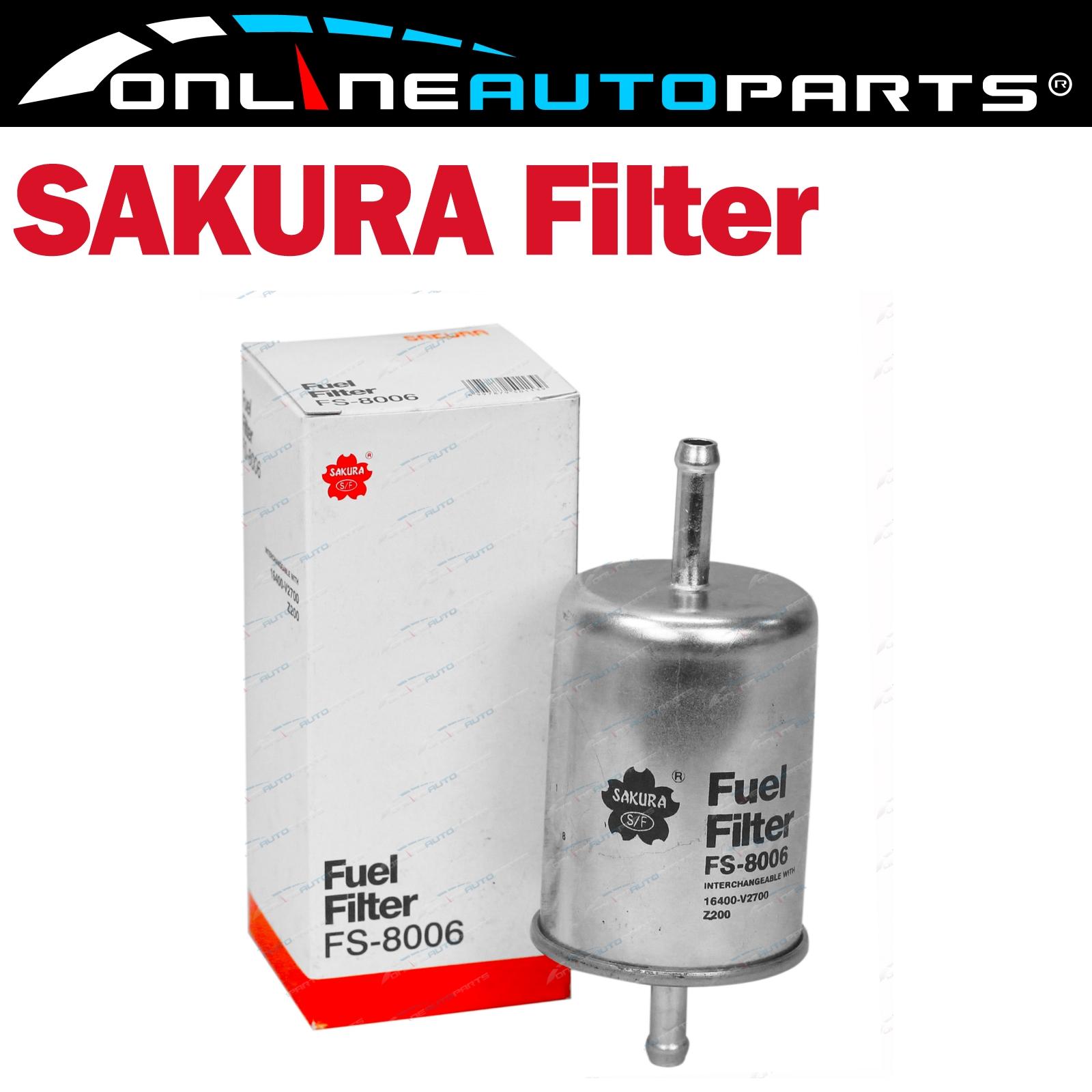 Sakura Fuel Filter FS-8006 Interchangeable with Ryco Z200