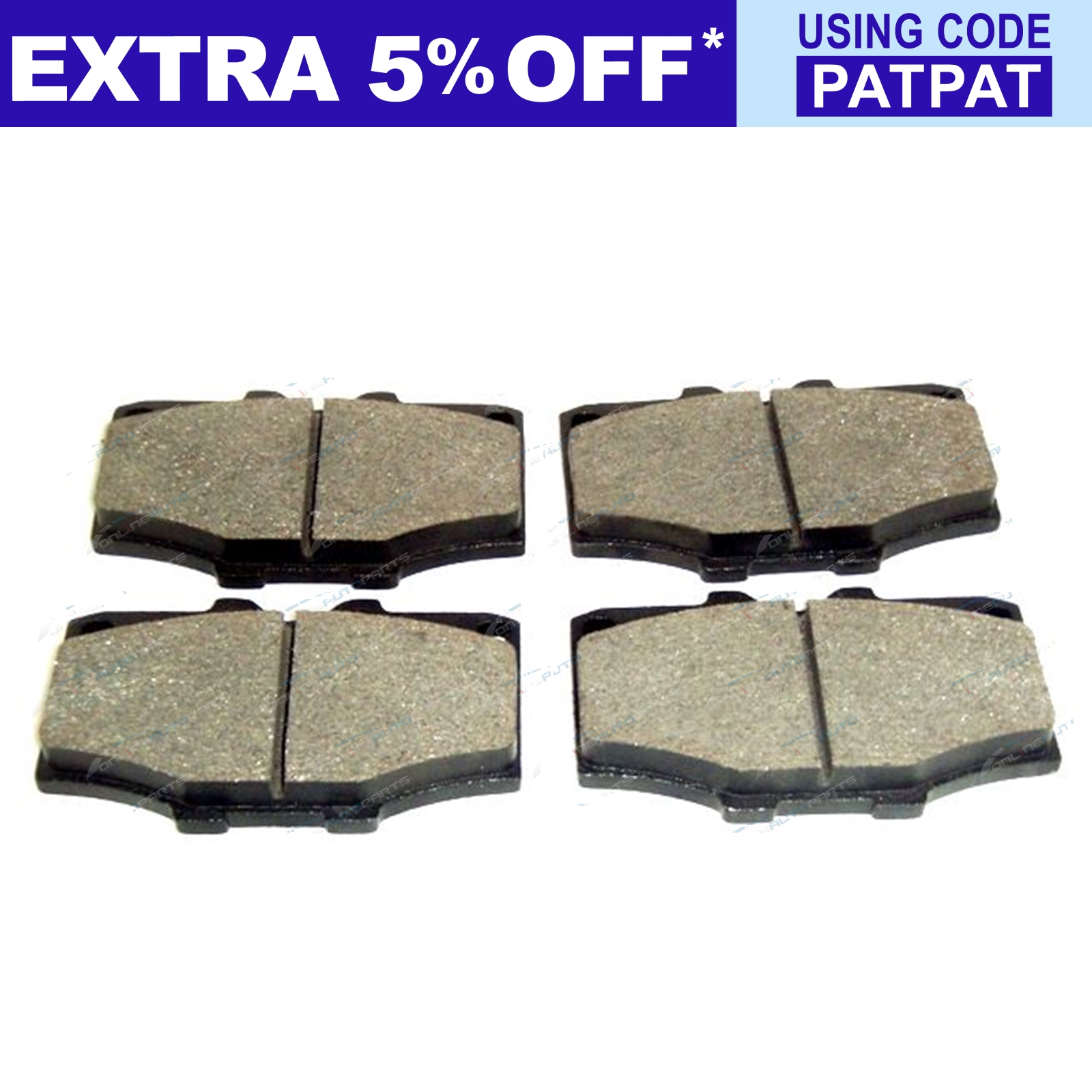 2-Drilled-Slotted-Front-Disc-Brake-Rotors-Pads-Set-Hilux-89-99-4x4-LN106-RN105 thumbnail 2
