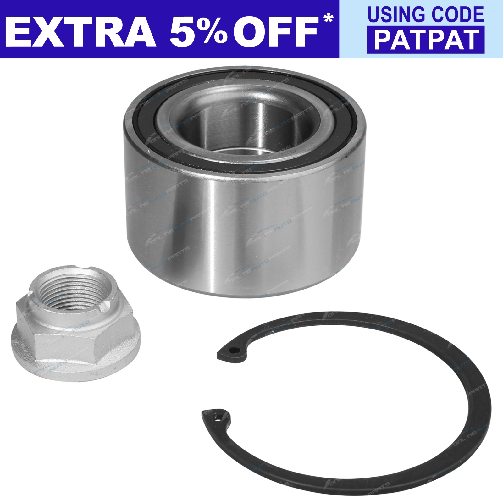 1-x-Front-Wheel-Bearing-Kit-suits-Mazda-3-BK-BL-FWD-Hatchback-Sedan-2005-2014