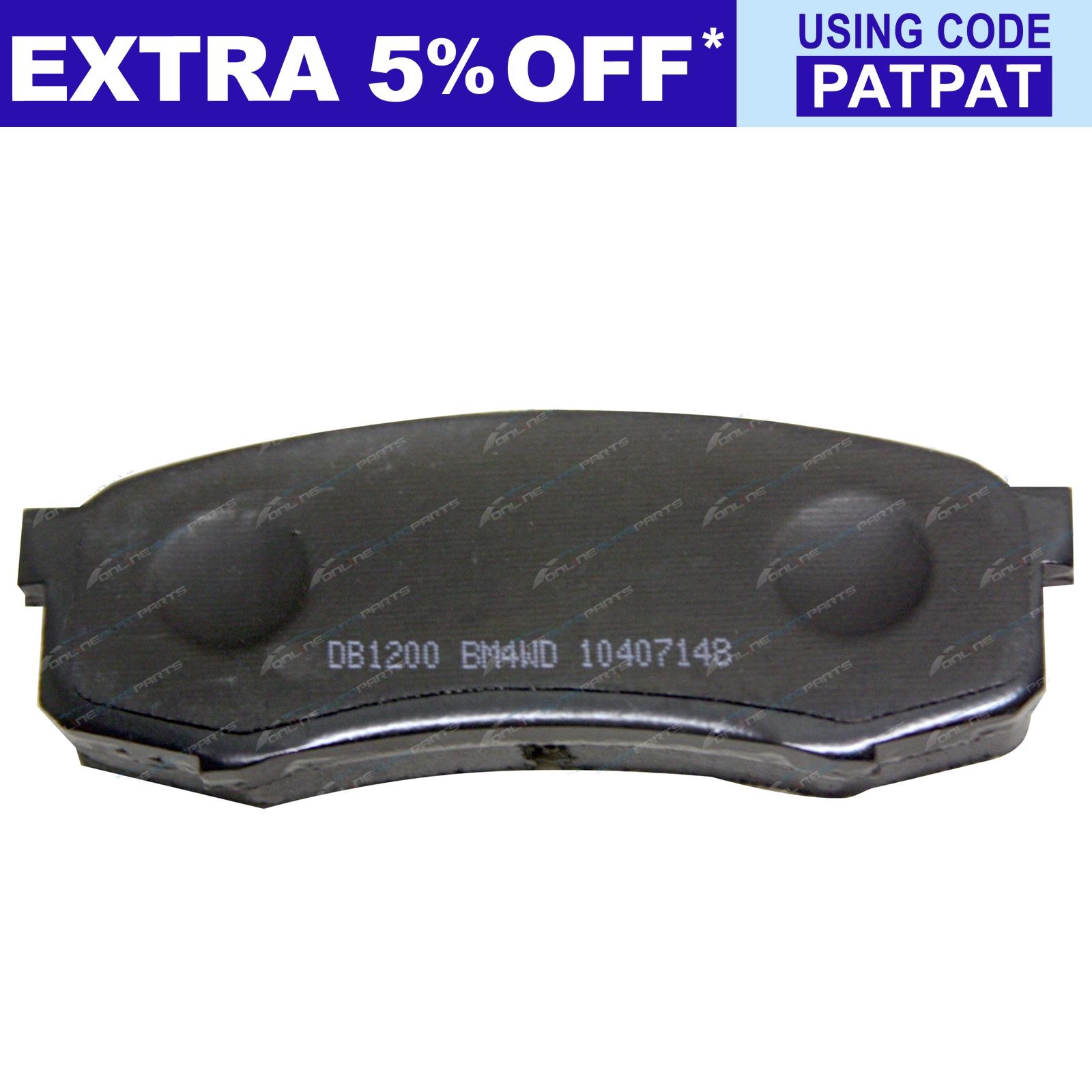 Rear-Disc-Brake-Pads-Bendix-suits-Landcruiser-75-78-79-Series-4x4-80-105-70 thumbnail 3