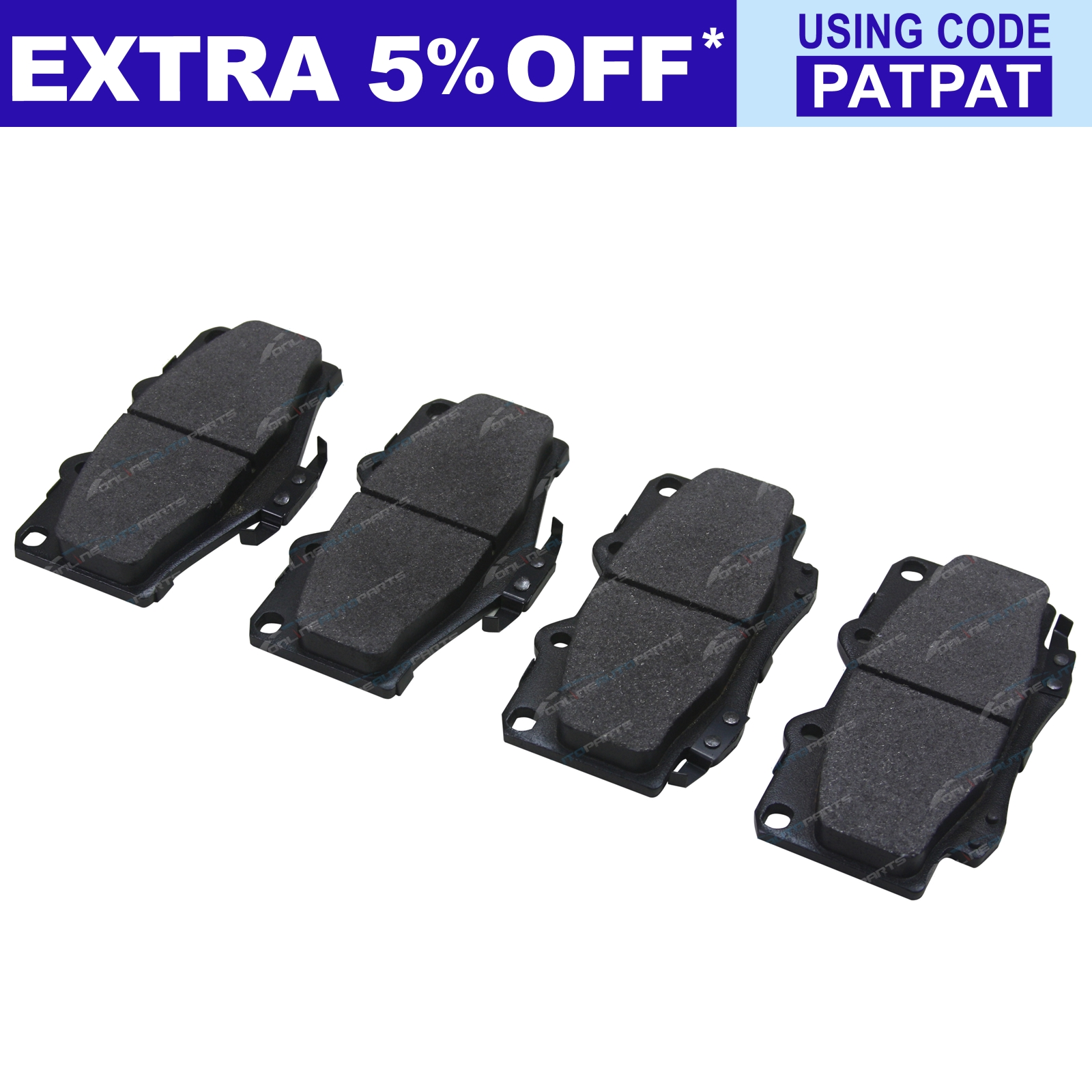 2-Front-Disc-Rotors-Brake-Pad-Set-suits-Landcruiser-1990-1999-70-75-Series-4x4 thumbnail 6