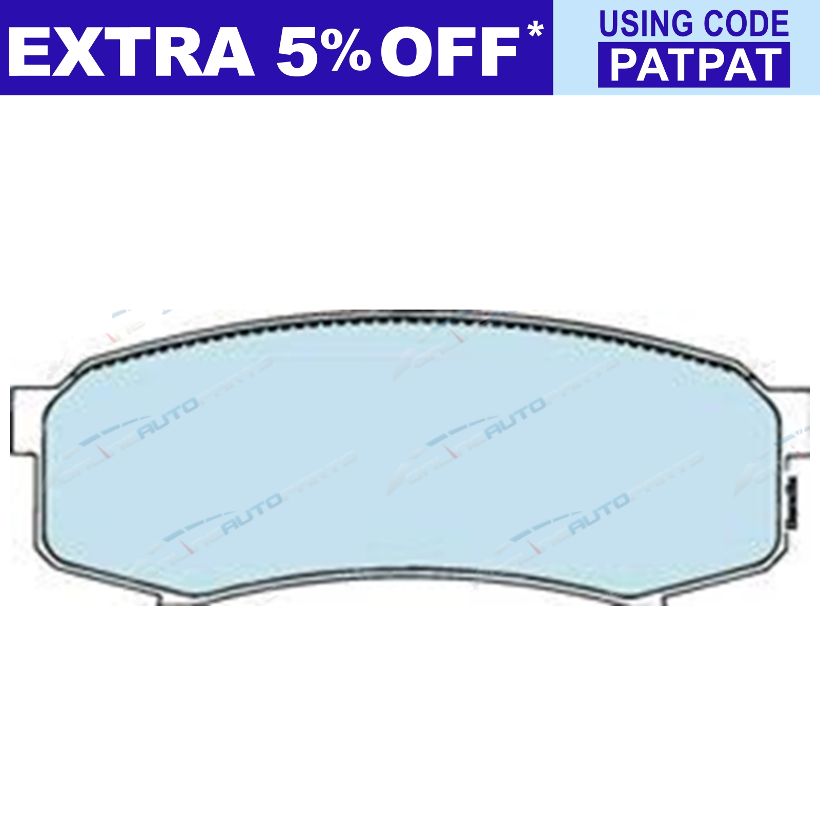 Rear-Disc-Brake-Pads-Bendix-suits-Landcruiser-75-78-79-Series-4x4-80-105-70 thumbnail 2
